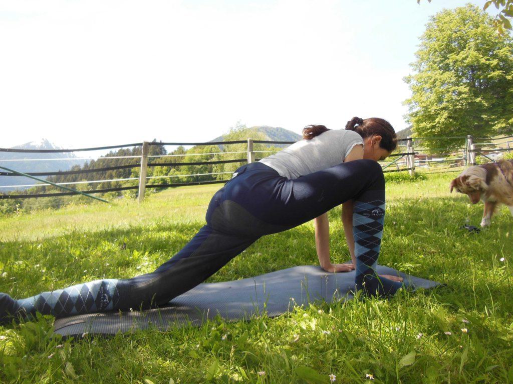 Yoga für Reiter: Kleiner Drache