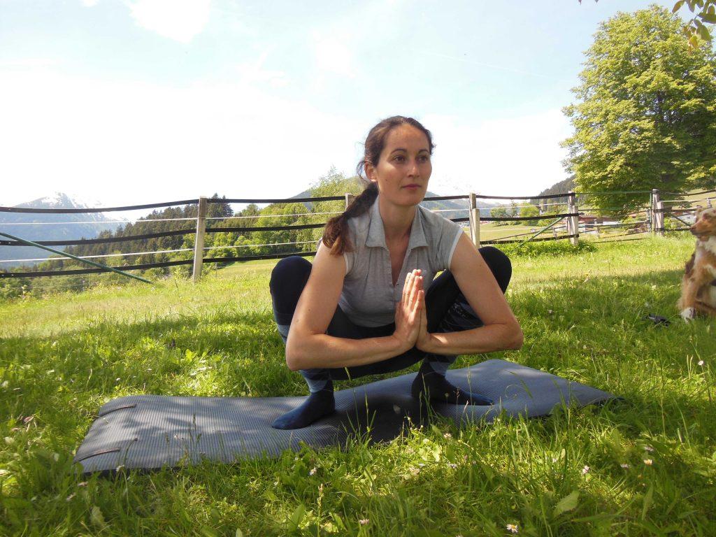 Yoga für Reiter: Malasana