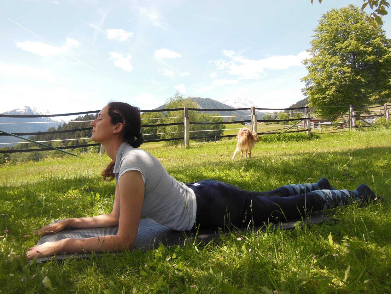 Yoga für Reiter: Sphinx