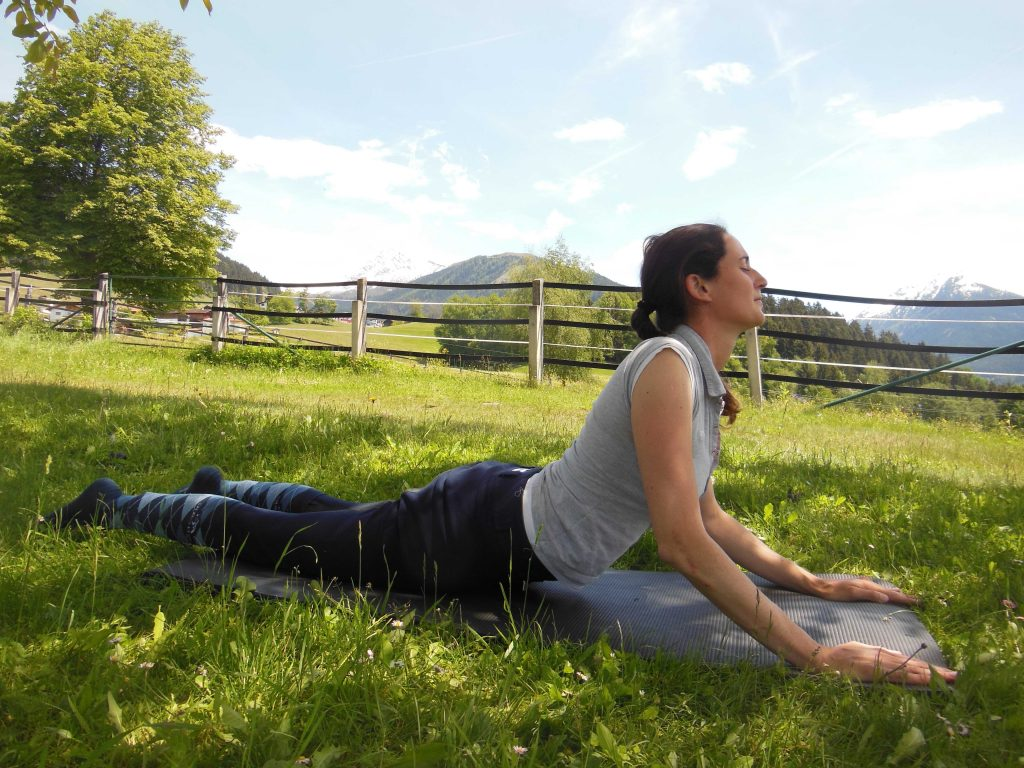 Yoga für Reiter: Bhujangasana