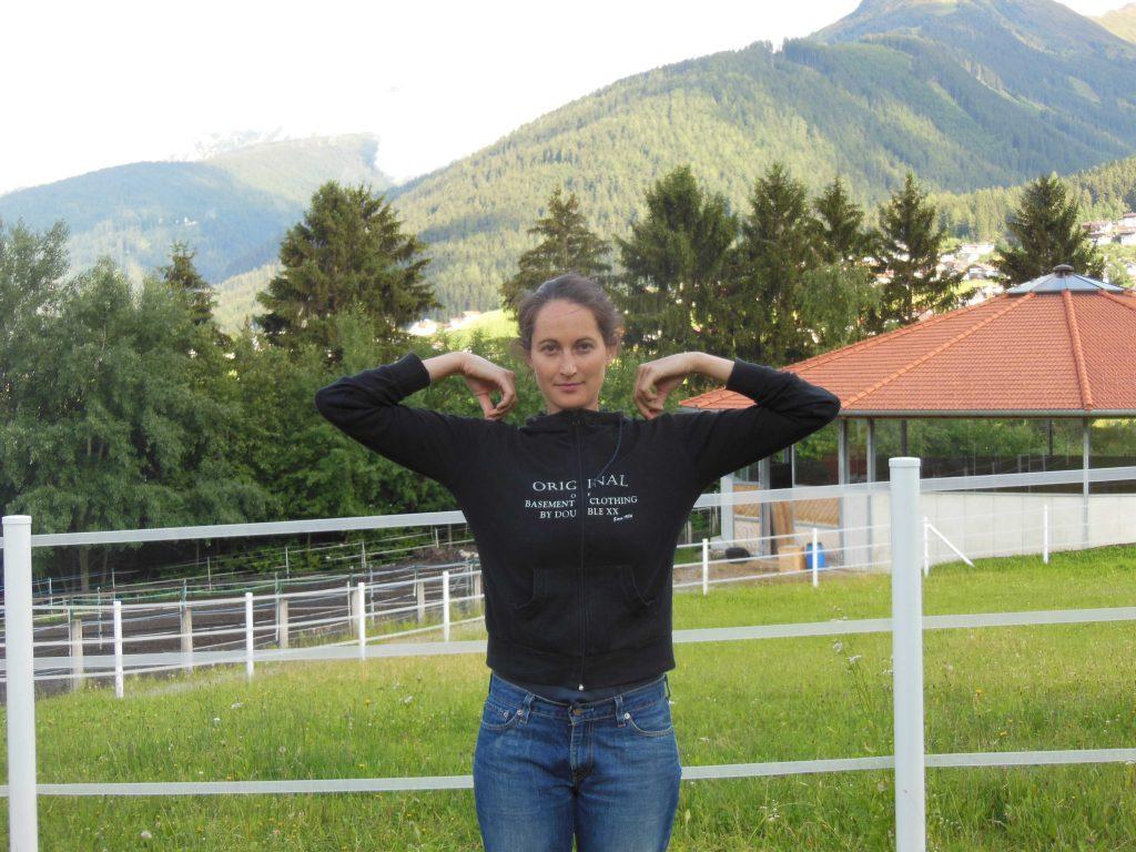 Yoga für Reiter: Kaugummi-Übung