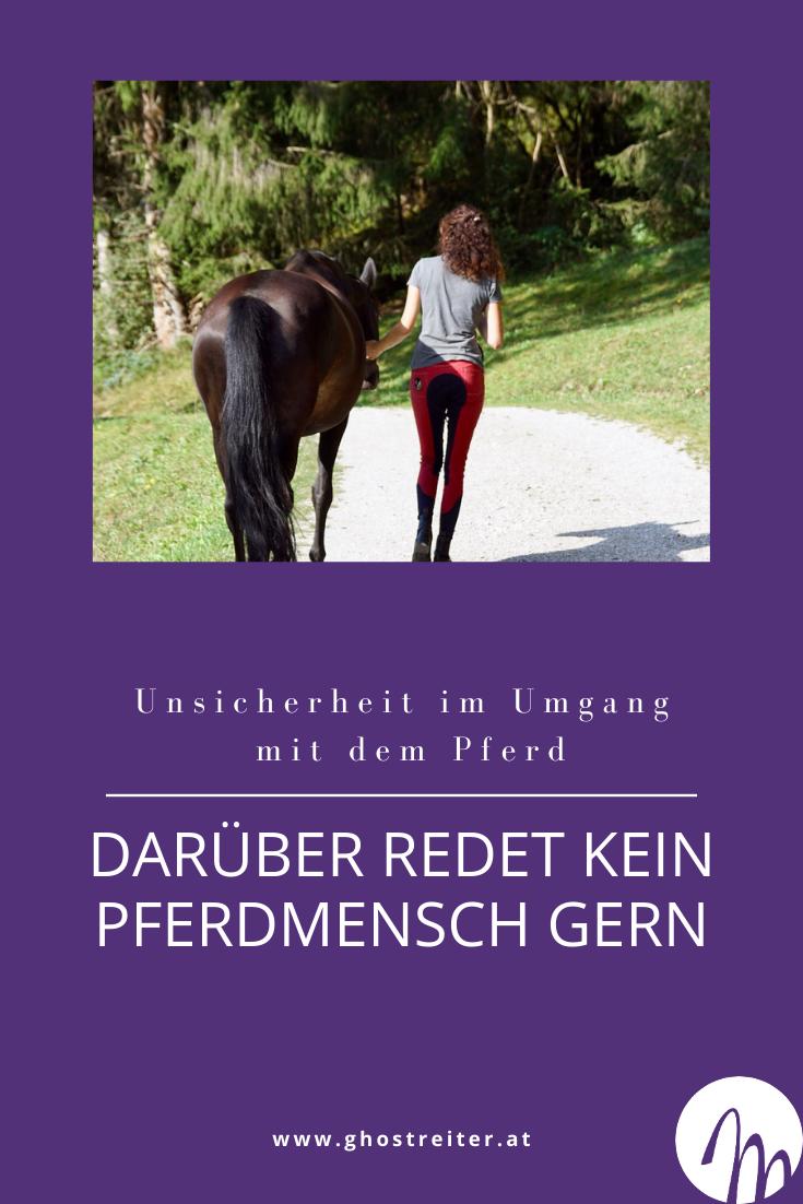 Unsicherheit im Umgang mit dem Pferd